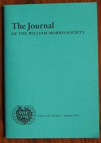 The Journal of the William Morris Society Volume VII Number 3 Autumn 1987