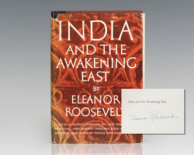 New York: Harper & Brothers, Publishers, 1953. First edition of Eleanor Roosevelt's account of her t...