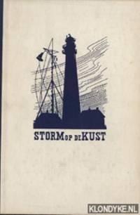Storm op de kust. Reddersvolk tussen de grondzeeën