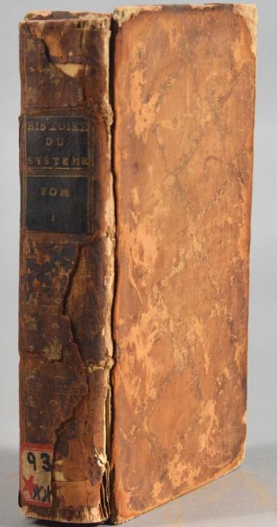 1739. . HISTOIRE DU SYSTEME DES FINANCES SOUS LA MINORITE DE LOUIS XV pendant les annees 1719 & 1720...