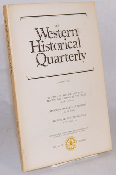 Logan: The Western History Association, Utah State University, 1971. Pp.5-20 (of 115p.), this lead a...