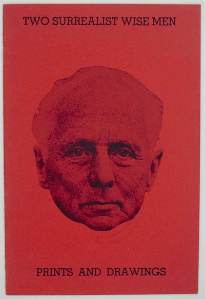 Chicago, IL: Kovler Gallery, 1968. First edition. Softcover. 8 pages. Exhibition catalog for a show ...