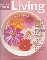 Martha Stewart Living Magazine August 2002