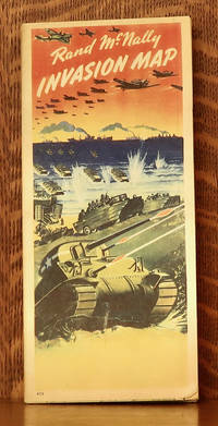 image of RAND MCNALLY INVASION MAP WWII 1945