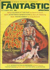 """FANTASTIC Stories: October, Oct. 1970 (""""The Crimson Witch"""")"""
