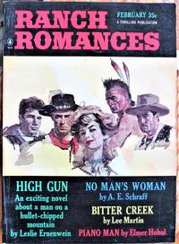 image of No Man's Woman. Short Story in Ranch Romances Volume 217 Number 1. February 1965.