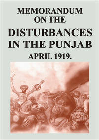 MEMORANDUM ON THE DISTURBANCES IN THE PUNJAB by GOVT RECORD - Hardcover - 1997 - from Sang-e-Meel Publications (SKU: Biblio256)