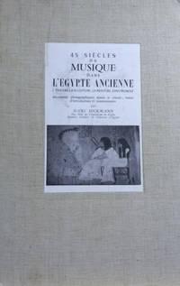45 Siecles De Musique Dans L\'Egypte Ancienne Travers La Sculpture, La  Peinture, L\'Instrument