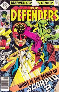 The Defenders #48: What Is The Secret of Scorpio?