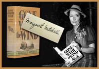 Margaret Mitchell signs an immaculate first edition copy of her landmark novel, Gone With the...