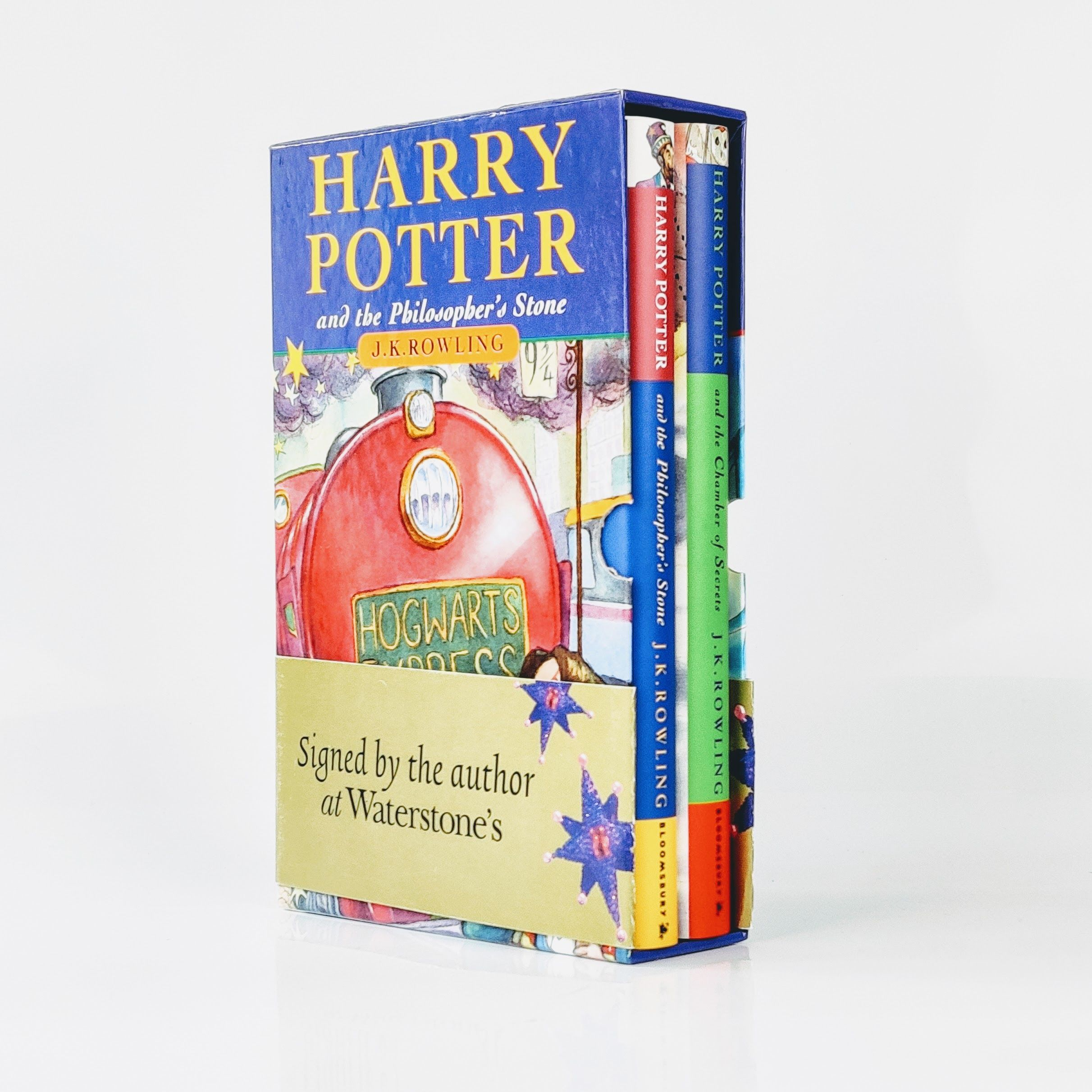 The Harry Potter Gift Set: Harry Potter and the Philosopher's Stone, Harry Potter and the Chamber of Secrets (photo 1)