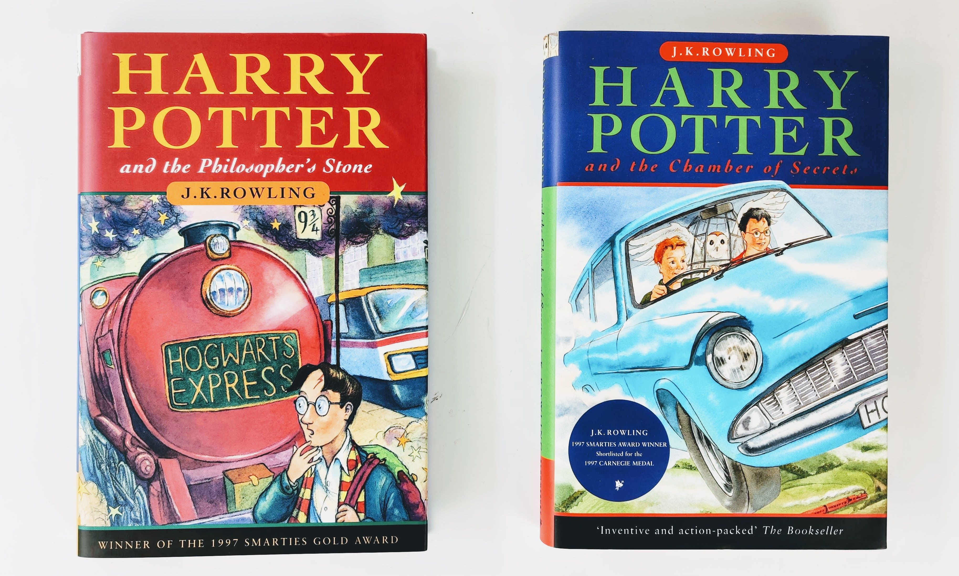 The Harry Potter Gift Set: Harry Potter and the Philosopher's Stone, Harry Potter and the Chamber of Secrets (photo 5)