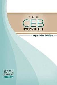 The CEB Study Bible Large Print