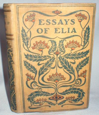 essayist elia Charles lamb was an english essayist with welsh heritage, best known for his essays of elia and for the children's book tales from shakespeare, which he produced along with his sister, mary lamb (1764–1847).
