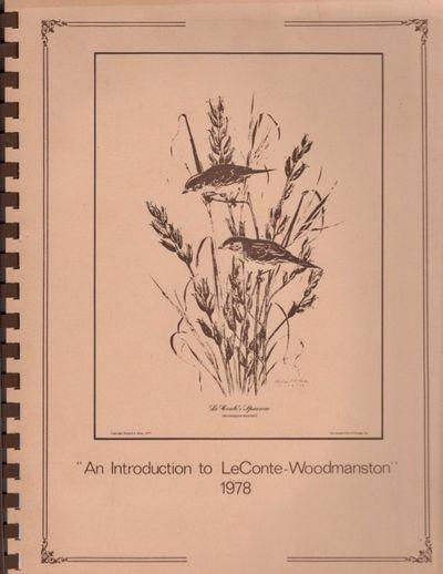 N. P.: Garden Club of Georgia, 1978. First Edition. Soft cover. Very good. Quarto. , ii, , iii, , iv...