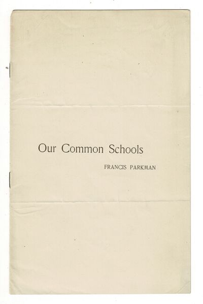 ; self-wrappers; stitched, as issued; previous folds, very good. Parkman agues public schools are as...