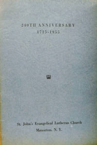 The History of Our Church, 1715-1955