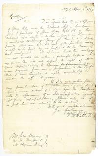 Alexander Hamilton Autograph Letter Signed.