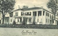 Abner Wheeler House, Framingham Centre, Mass old unused Postcard