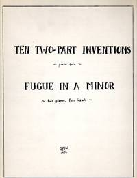 image of Ten Two-Part Inventions (for piano solo)_Fugue in A Minor (for Two pianos, four hands) - PIANO SCORE