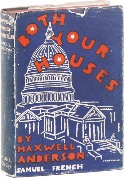 New York: Samuel French, 1933. First Edition. First Printing. Octavo (19cm); blue cloth titled in re...