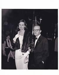 image of Truman Capote and Gloria Vanderbilt at the 54th Street Theatre, February 16, 1960
