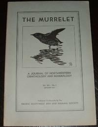 image of 1931 Issue of the Murrelet Journal of Northwestern Ornithology and  Mammalogy