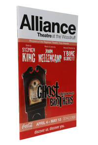 Programme from the Alliance Theatre at the Woodruff [showing] Ghost Brothers of Darkland County