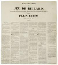 Nouvelles Règles du Jeu de Billard, Rédigées D'après les Avis des Plus Forts Joueurs de Rouen, et Publiées par N. Godin, Fabricant de Billards