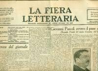 La Fiera Letteraria. 1929. Anno V. n. 1-5, 7-9, 11-14, 16-39, 41, 43, 45, 48-51