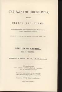 image of The Fauna of British India, Including Ceylon and Burma: Reptilia and Amphibia Vol. II - Sauria