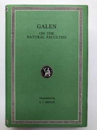 On the Natural Faculties (Loeb Classical Library)