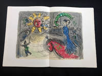 Derriere le Miroir 235. 2 original lithographs in color by Chagall.