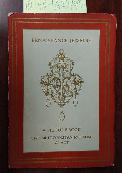 New York: The Metropolitan Museum of Art, 1940. Softcover. Booklet ; G-/paperback; red covers; cover...