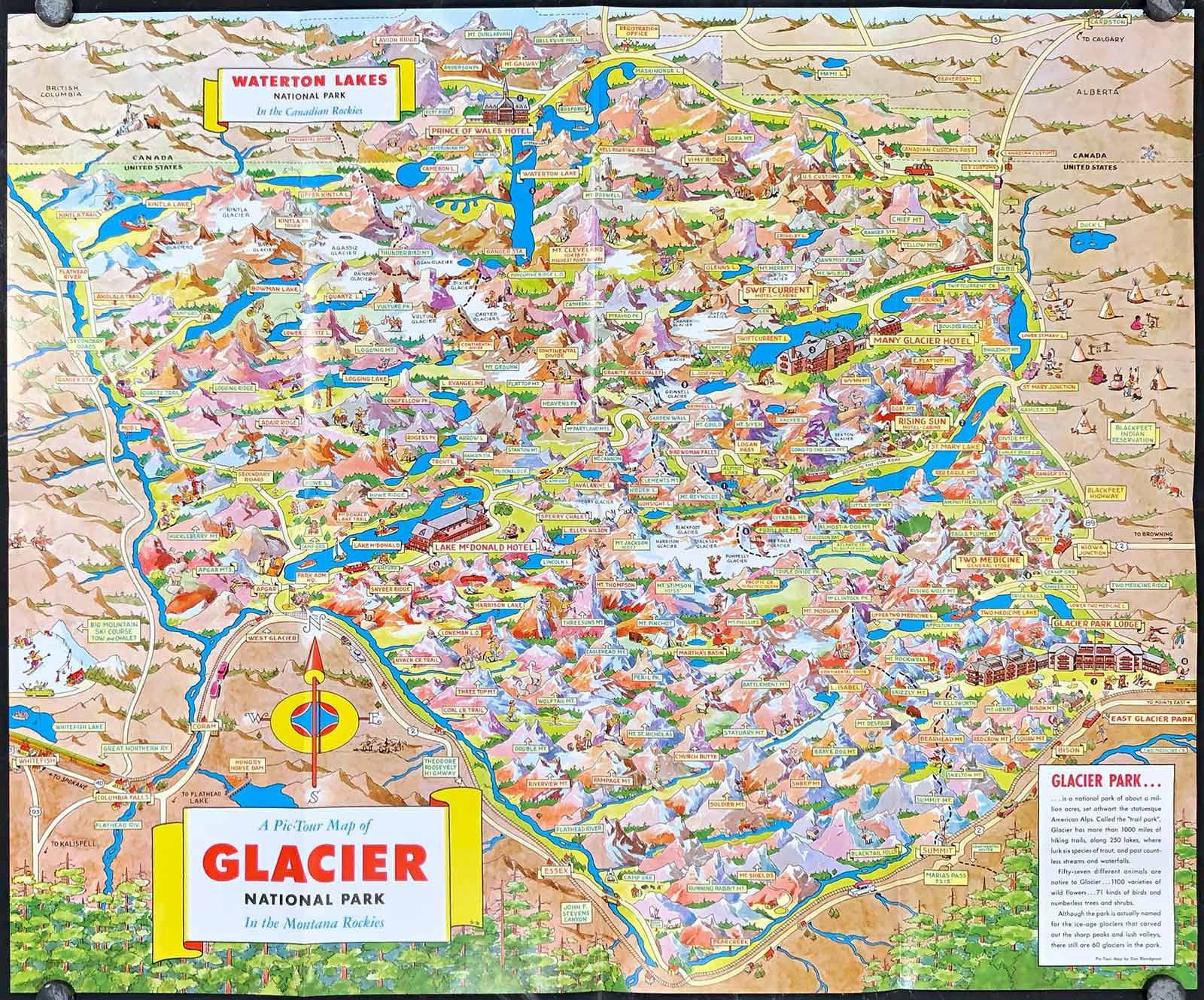 A Pic Tour Map of Glacier National Park In the Montana ... Glacier National Park Montana Map on montana big sky resort map, montana billings map, montana on a map, montana hot springs map, montana california map, montana mile marker map, montana city map, montana red lodge map, montana united states map, montana ennis map, montana wildlife map, montana continental divide trail map, montana yellowstone map, montana idaho map, montana camping map, montana zip code map, montana helena map, montana great falls map, montana bozeman map,