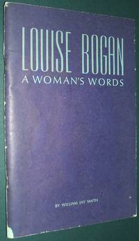 image of Louise Bogan a Woman's Words
