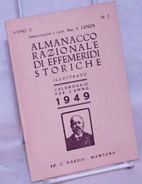 image of Almanacco razionale di effemeridi storiche.  Illustrato. Calendrio per l'anno 1949