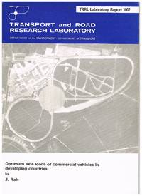 TRRL Laboratory Report 1002 : Optimum axle loads of commercial vehicles in developing countries