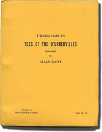 image of Tess of the D'Urbervilles (Original screenplay for an unproduced film, Final Draft)