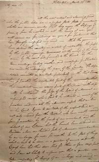 Autograph Letter Signed, Philadelphia March 22, 1794 to Jasper Yeates, Lancaster
