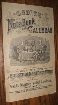 image of Ladies Note-Book and Calendar World's Dispensary Medical Assoc. NY