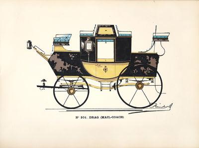 Catalogue d'automobiles. (de la...