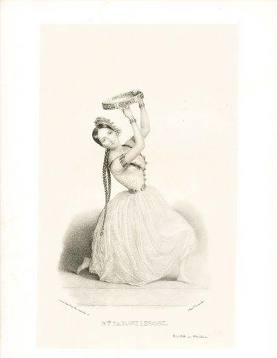 Paris: Marchant, 1841. Leroux, Melle. Pauline. . 6