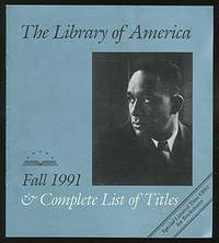 The Library of America: Fall 1991 and Complete List of Titles