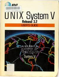 image of Unix System V Release 3.2 User's Guide