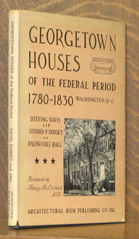 image of GEORGETOWN HOUSES OF THE FEDERAL PERIOD