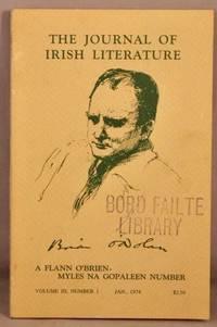 image of The Journal of Irish Literature: A Flann O'Brien / Myles Na Gopaleen Number; Volume 3, number 1, Jan. 1974.