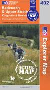 image of Badenoch and Strathspey (OS Explorer Map Active)