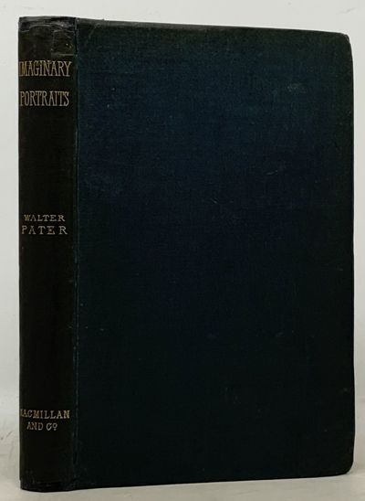 London & New York: MacMillan & Co, 1887. 1st edition (NCBEL III, 1412). Original blue publishers clo...