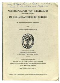 Anthropologie on Neuirland (Neumecklenburg) in der Melanesishen Sudsee